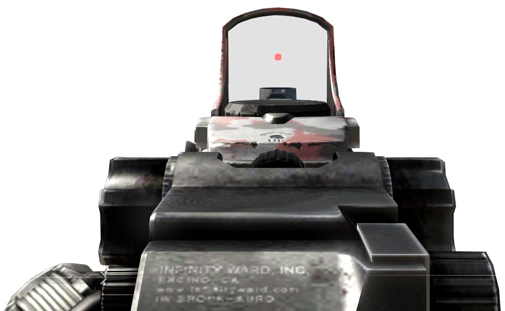 Vector mw2 red dot sight. Attachment call of duty