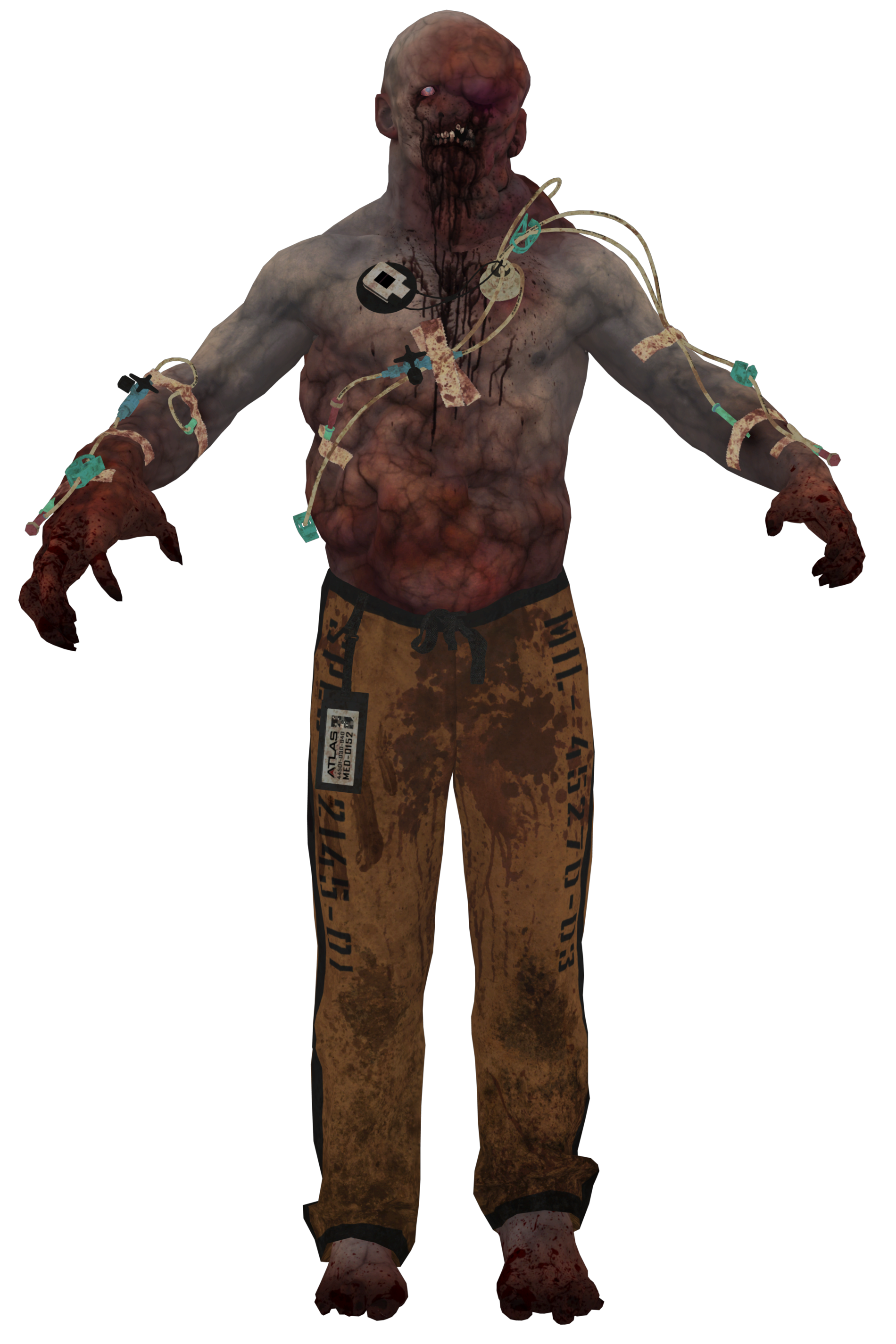 Cod zombie png. Image host model aw