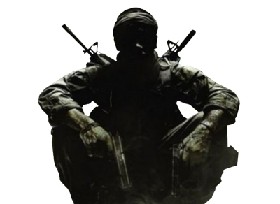 Transparent soldier black op. Call of duty ops