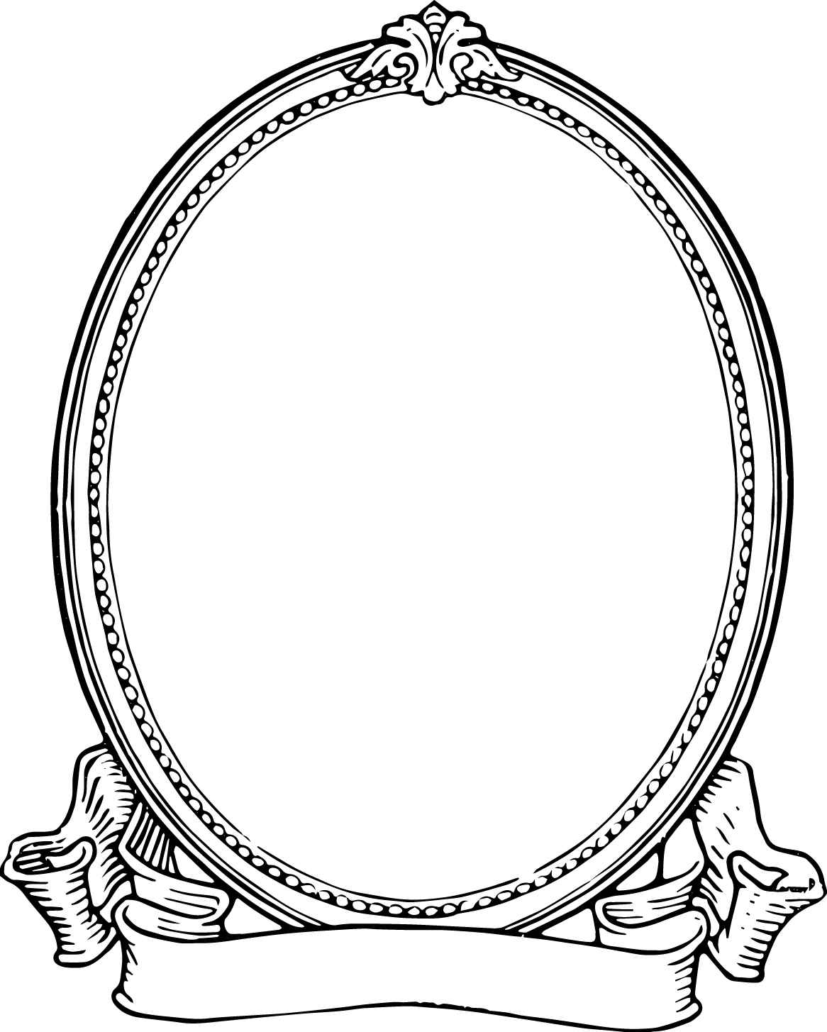 Borders drawing frame. Printable frames and for