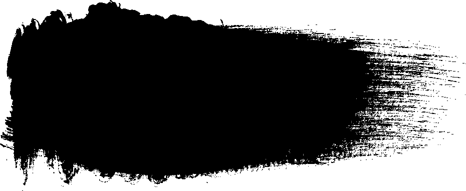 Black paint stroke png. Dry brush transparent