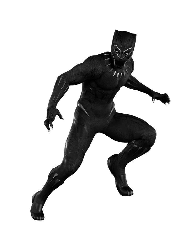 Black panther png. Render by n rkyx