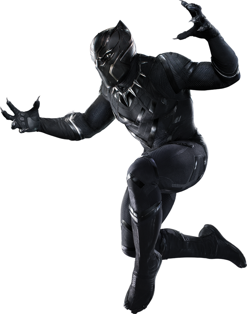 civil war black panther png