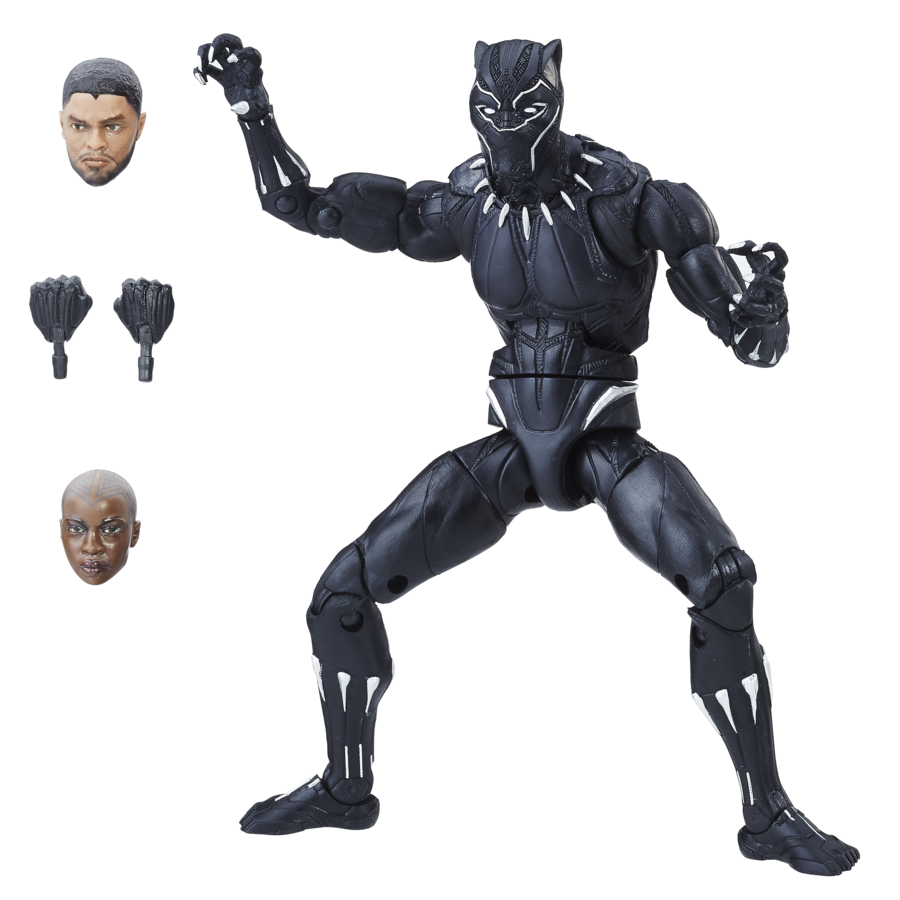 Black panther 2018 png. New toys from hasbro