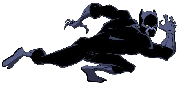 Black panther clipart png. Marvel