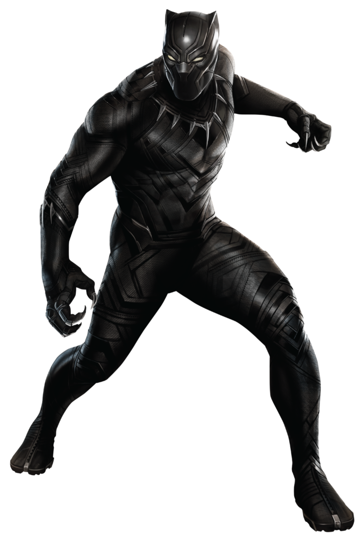 Black panther clipart png. Civil war by sidewinder