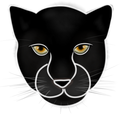 Panther face png. Concept art transcendence pantherfaceconcept