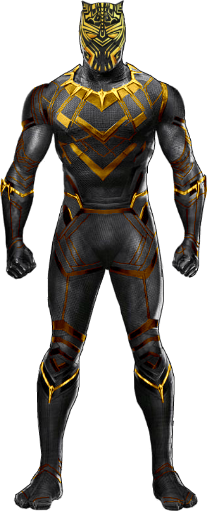 Black panther face png. Mcu killmonger golden jaguar