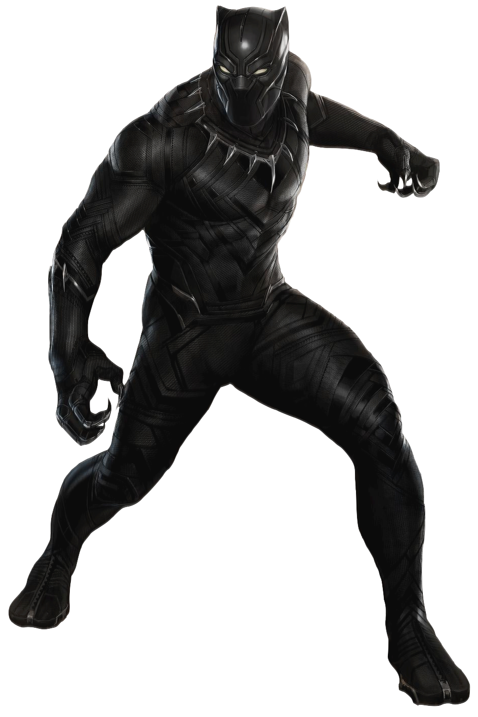 costume drawing black panther