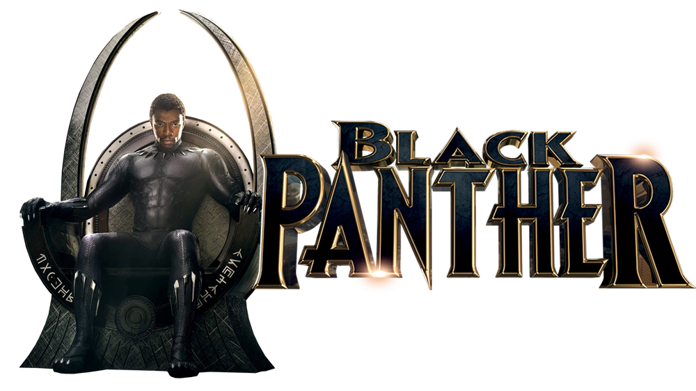 Black panther movie logo png. The young prince wakanda