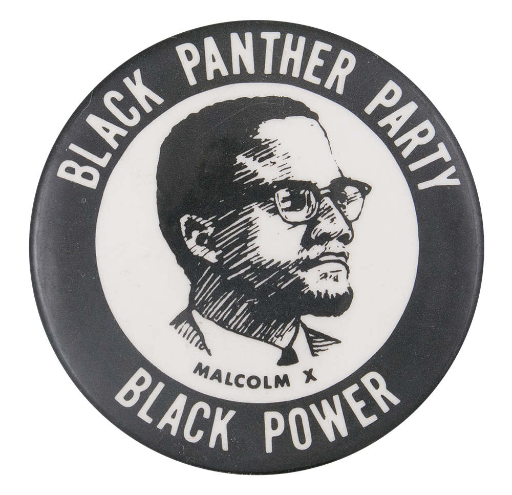 Black panther party png. Malcolm x busy beaver
