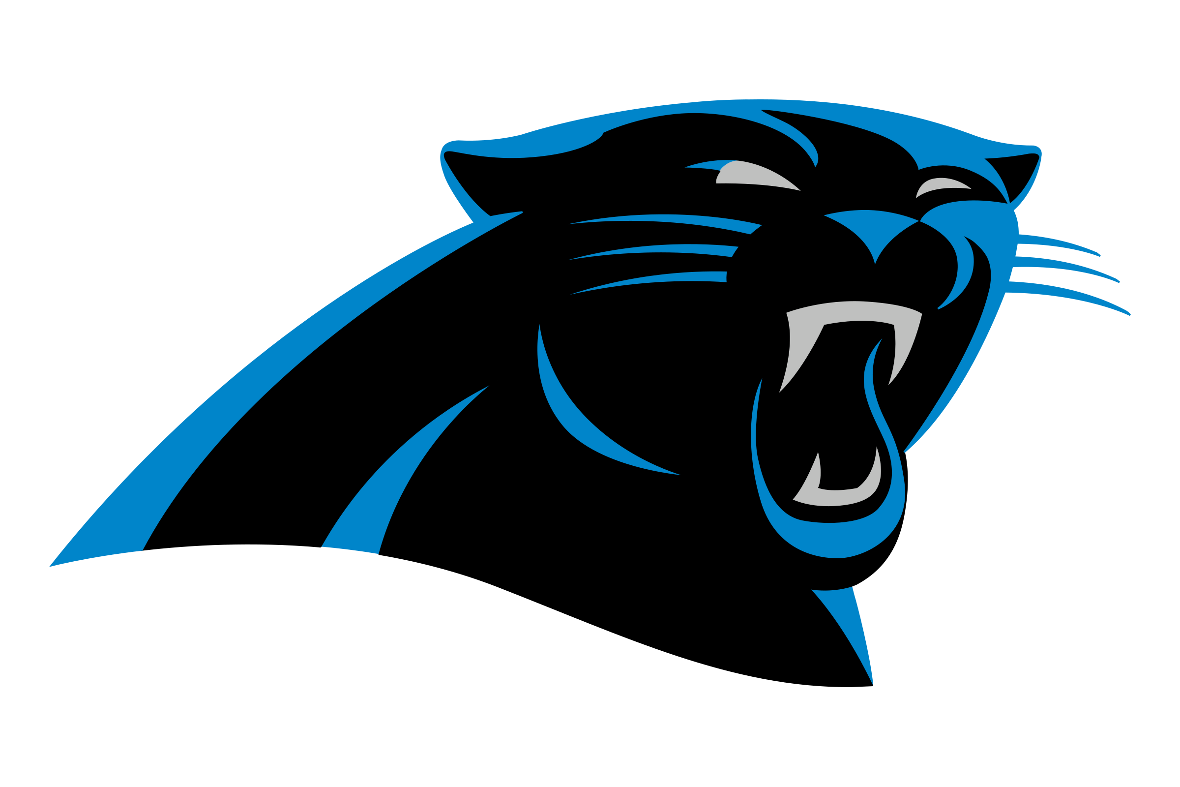 Carolina panthers logo png. Transparent svg vector freebie