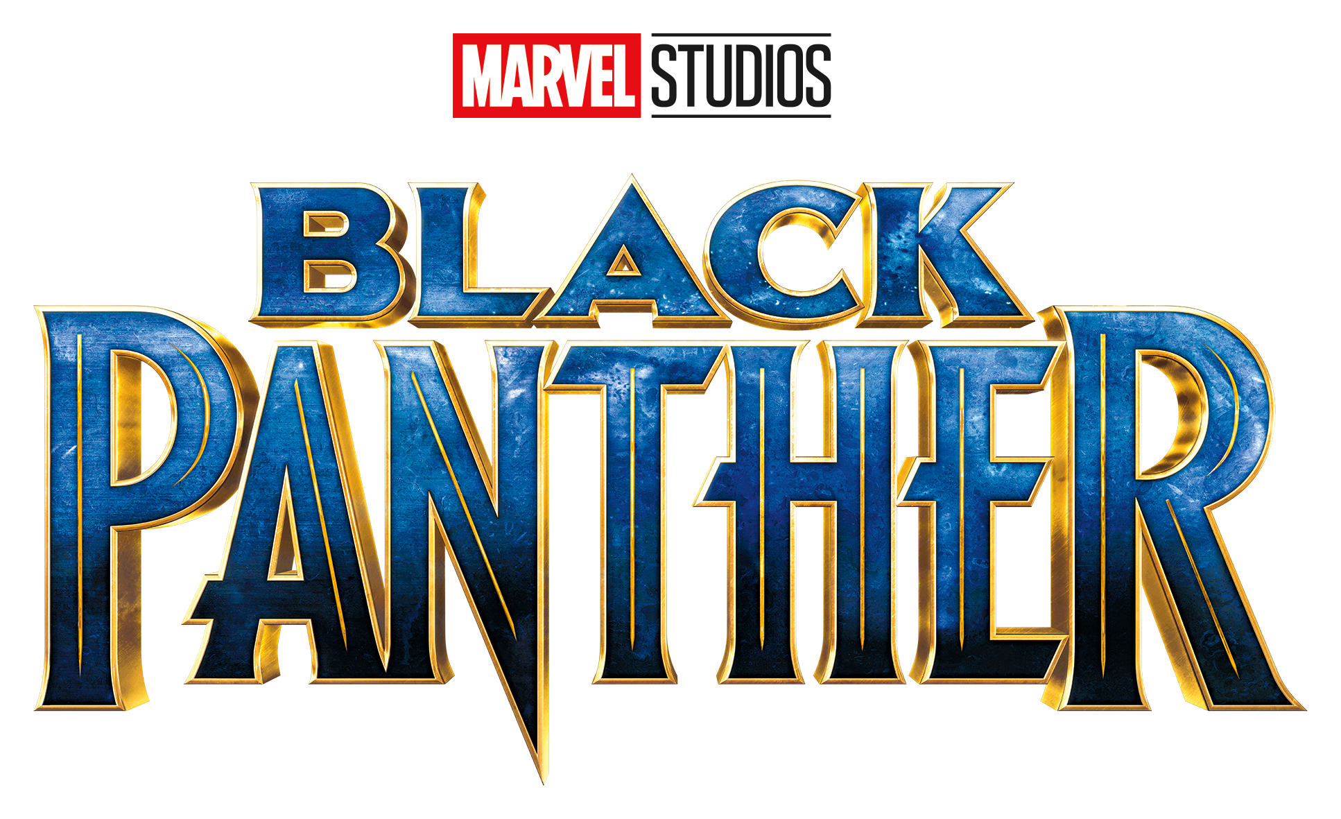 Black panther title png. New official logo marvelstudios