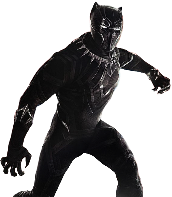 Panther transparent png. Black background by camo