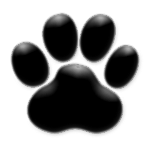 Black paw print png. File pawprint wikimedia commons