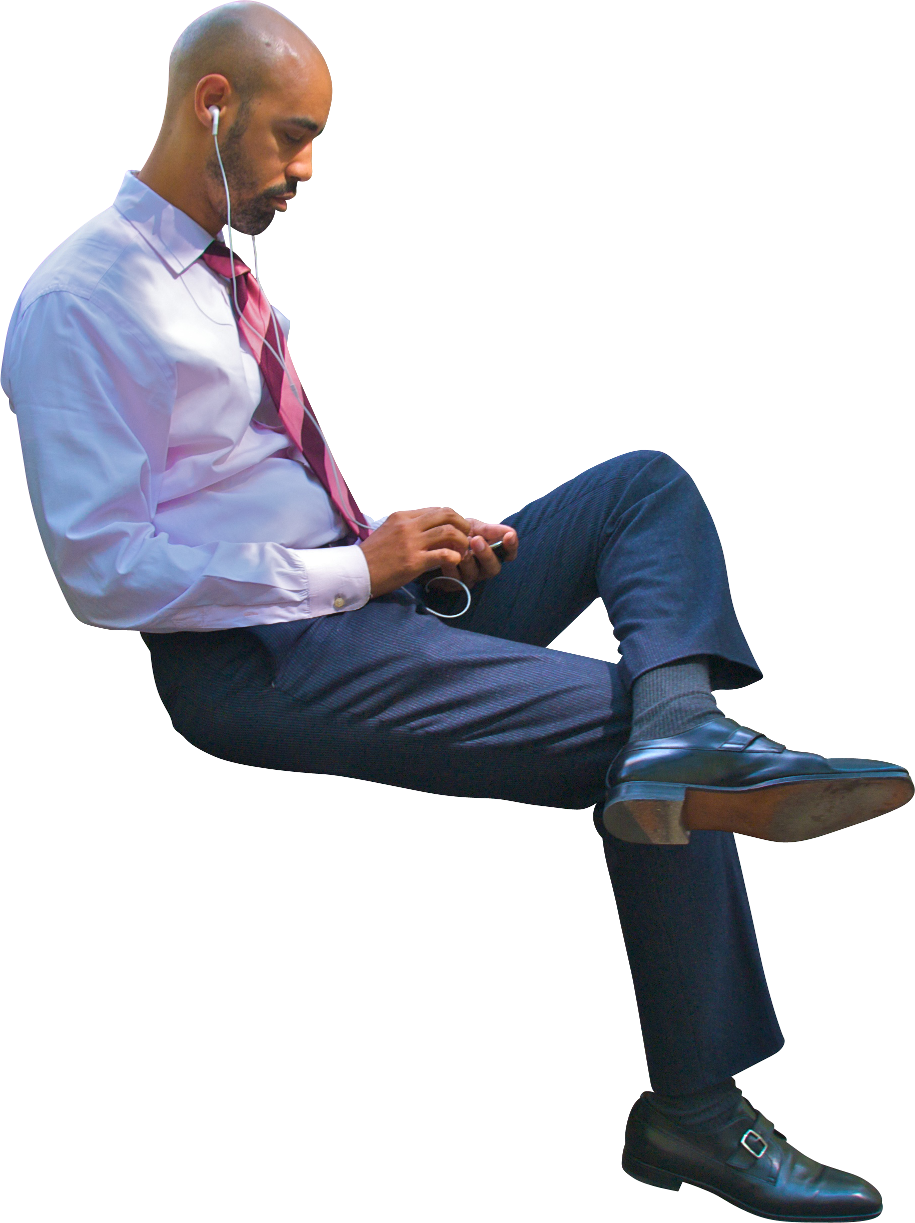 Person sitting in chair back view png. Man image purepng free