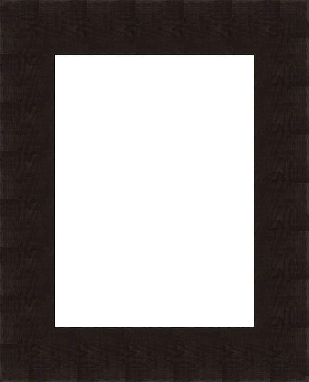 Black photo frame png. Square simple flat wood