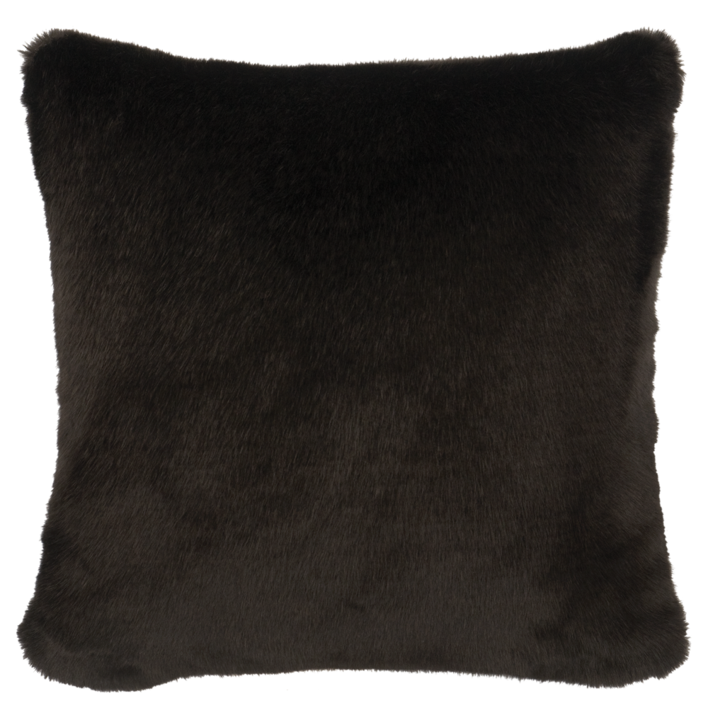 Black pillow png. Faux fur throws and