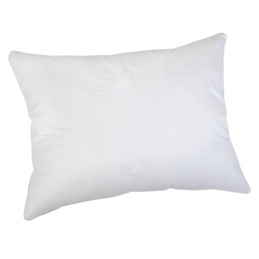 White pillow png. Simple transparent stickpng