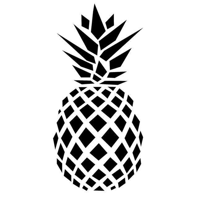 Black pineapple. And white ideas about