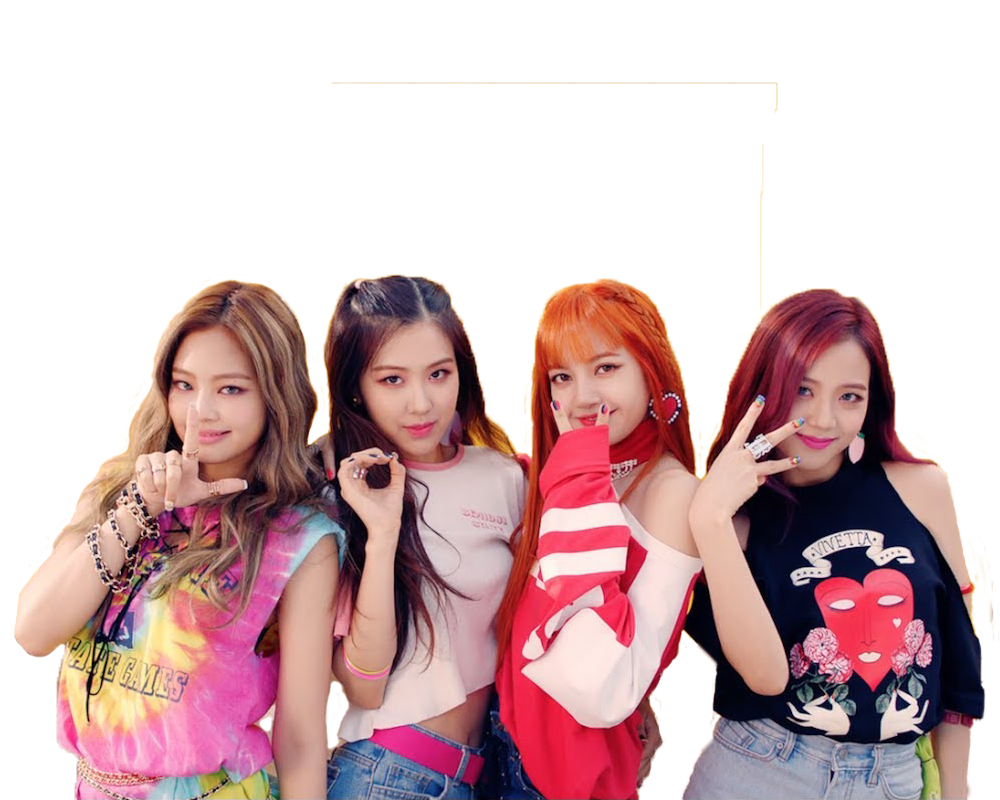 Black pink png. Blackpink as if it
