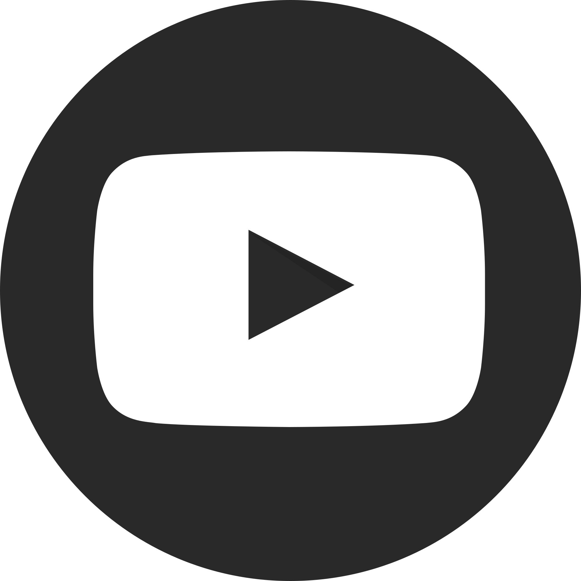 White youtube play button png. File dark circular svg
