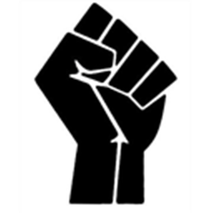 Black power fist png. Jpg image by awiakta