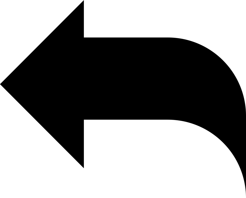 Black right arrow png. Reply left interface symbol