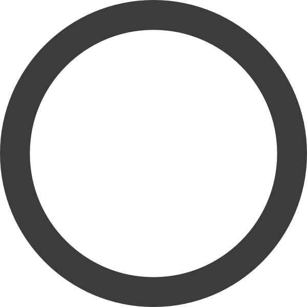 Grey circle png. Empty dark ring clip
