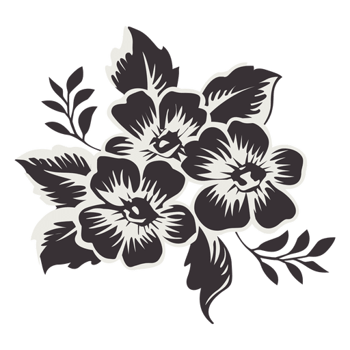 Black rose bouquet png. Flower transparent svg vector