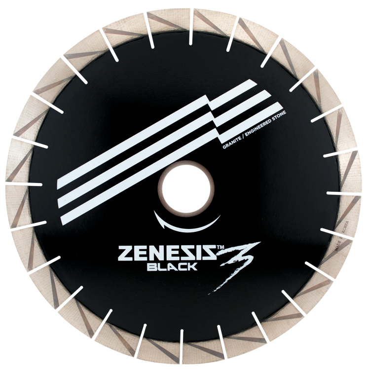Black saw blade png. Zenesis granite terminator diamant