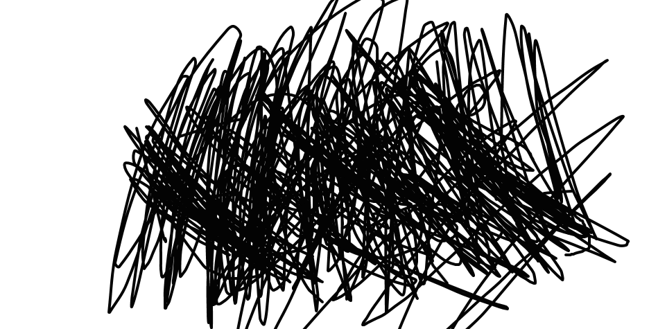 angry scribble png