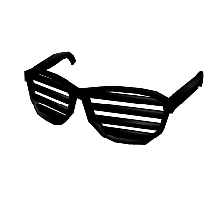 Shades png. Image black shutter roblox