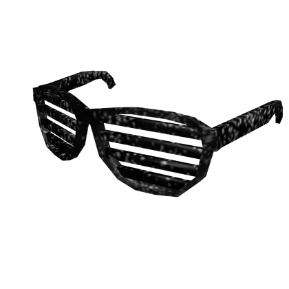 Shutter glasses png. Image black iron shades