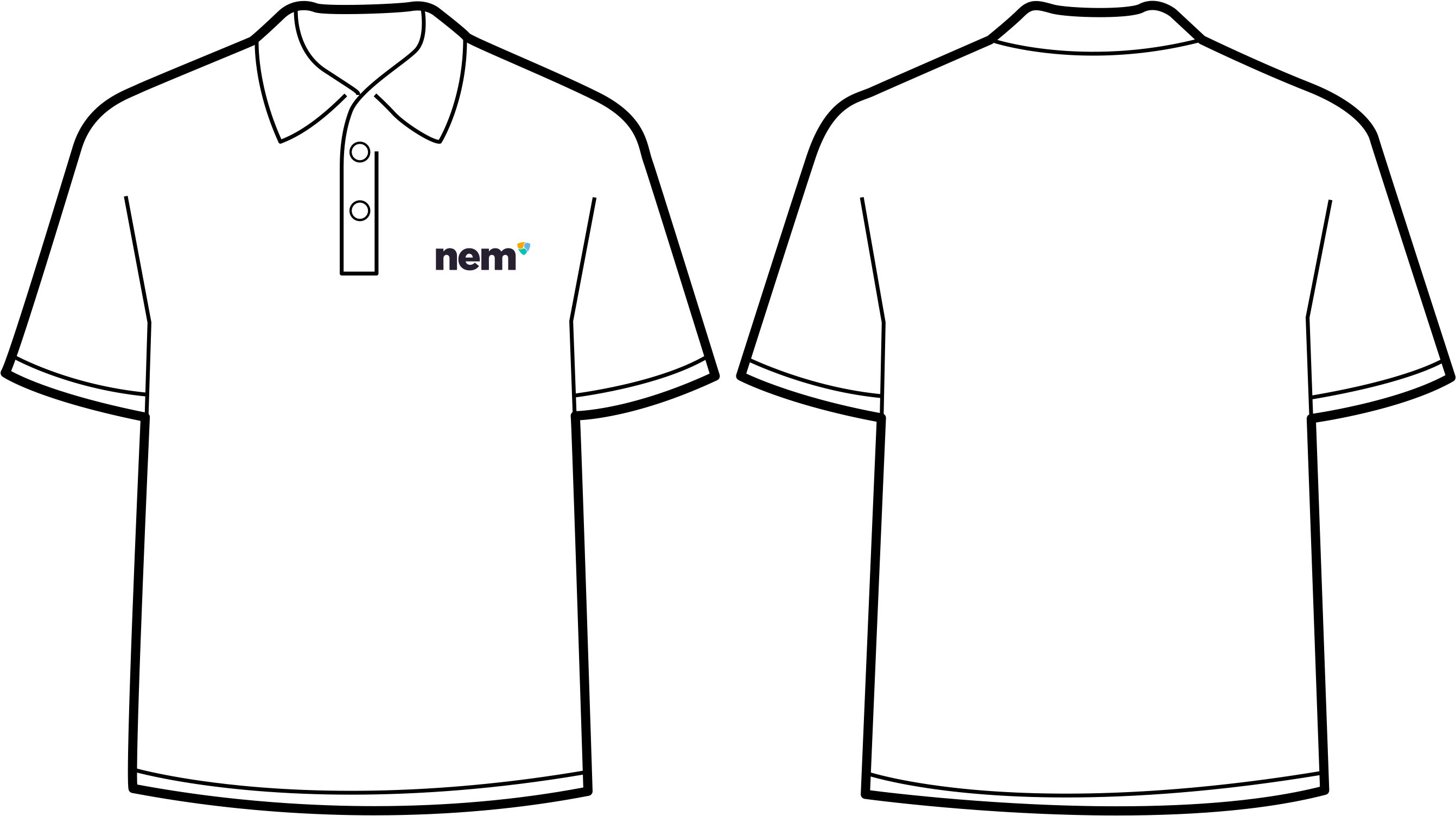 17 Transparent Tshirt Template Black Png For Free Download On Ya