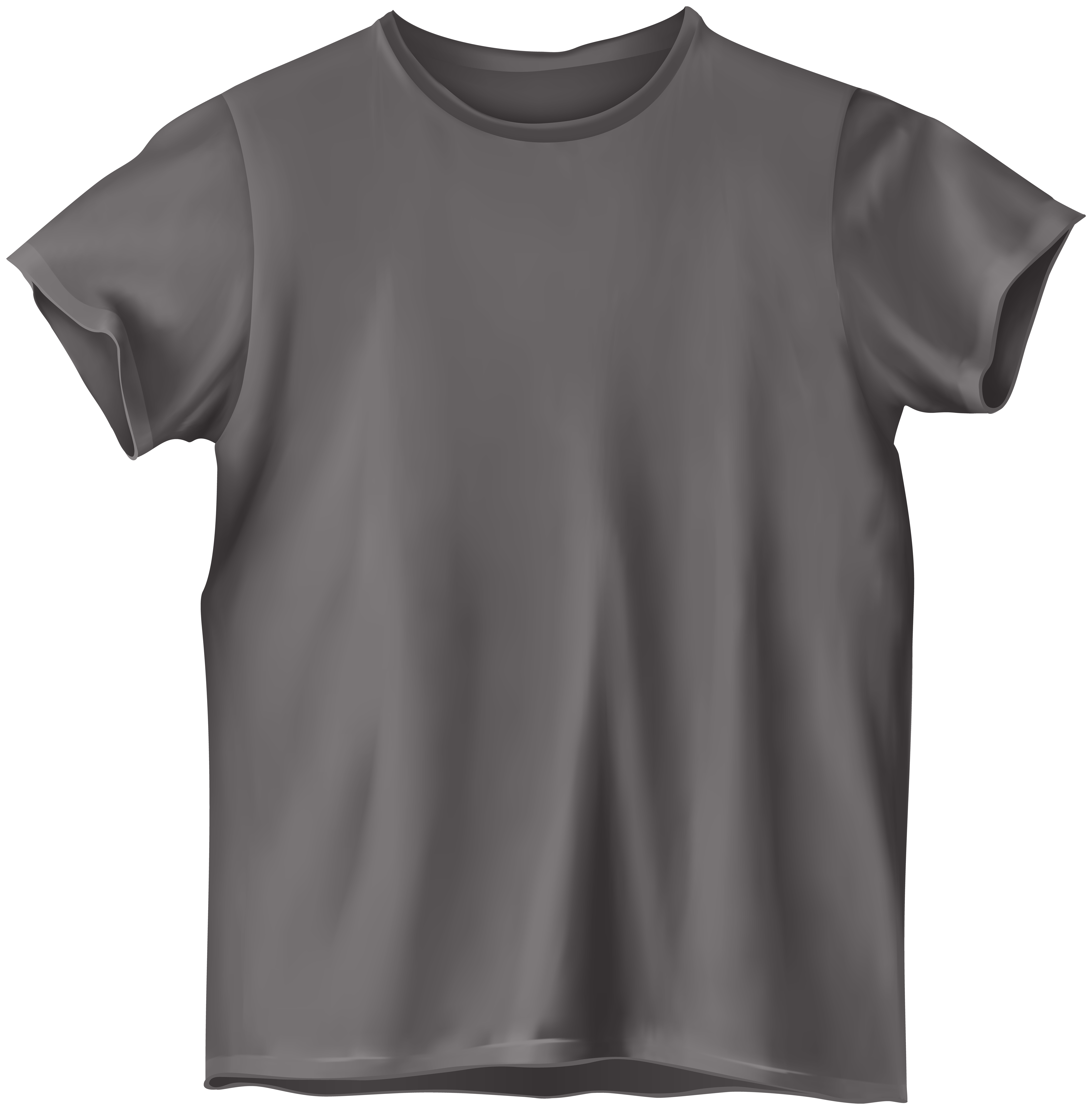 Grey t shirt clip. Tshirt png clip black and white download