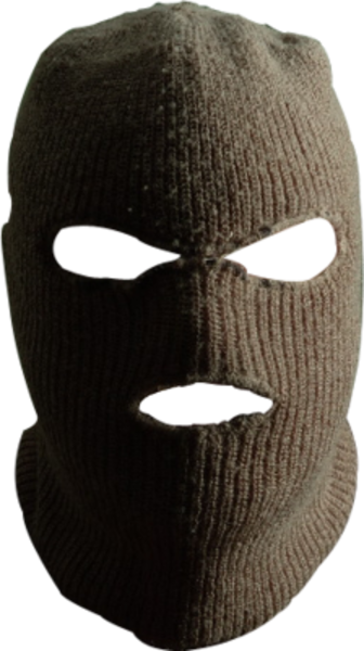 robber mask png