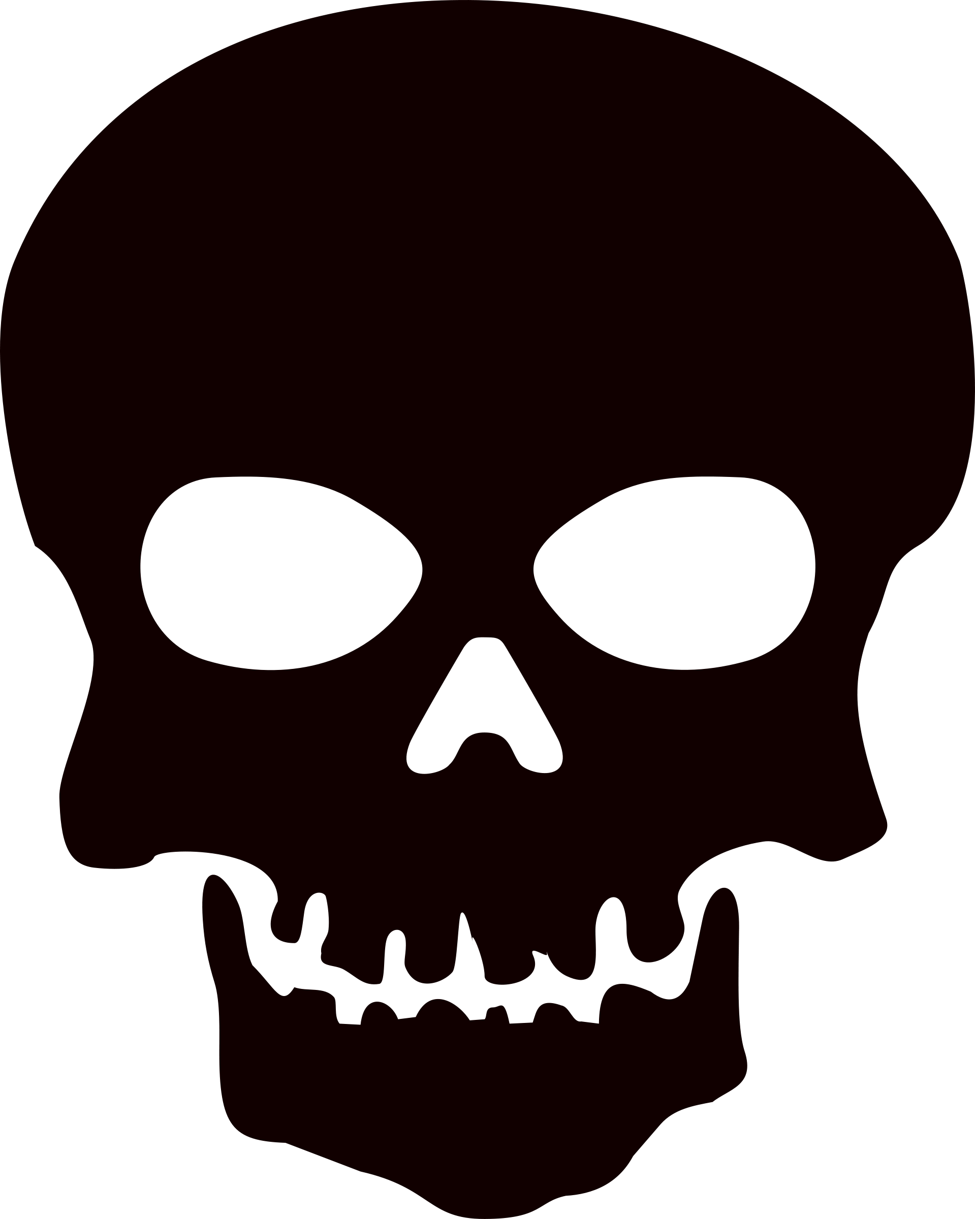skull no jaw png