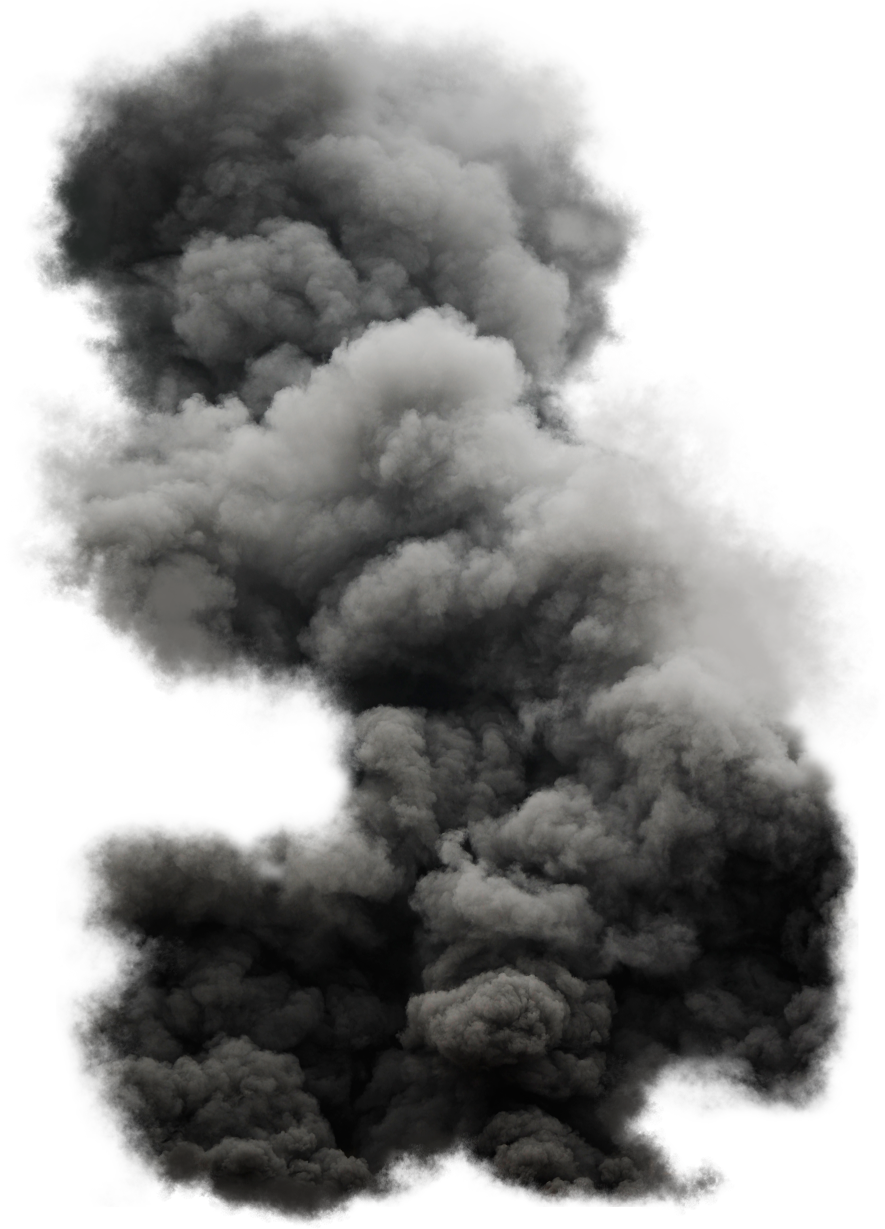 Explosion smoke png. Black cloud image purepng