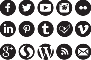 Black social media icons png. Web style standards csuf