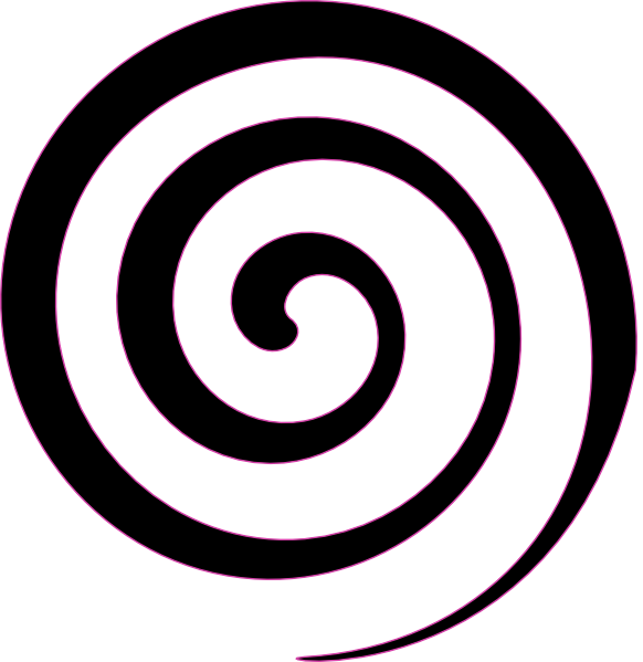 Black spiral png. Lollipop clip art at