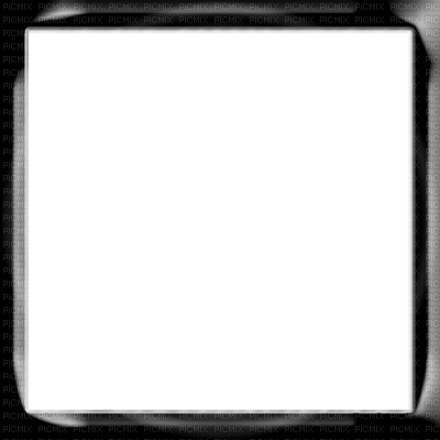 Black square png. Frame on r