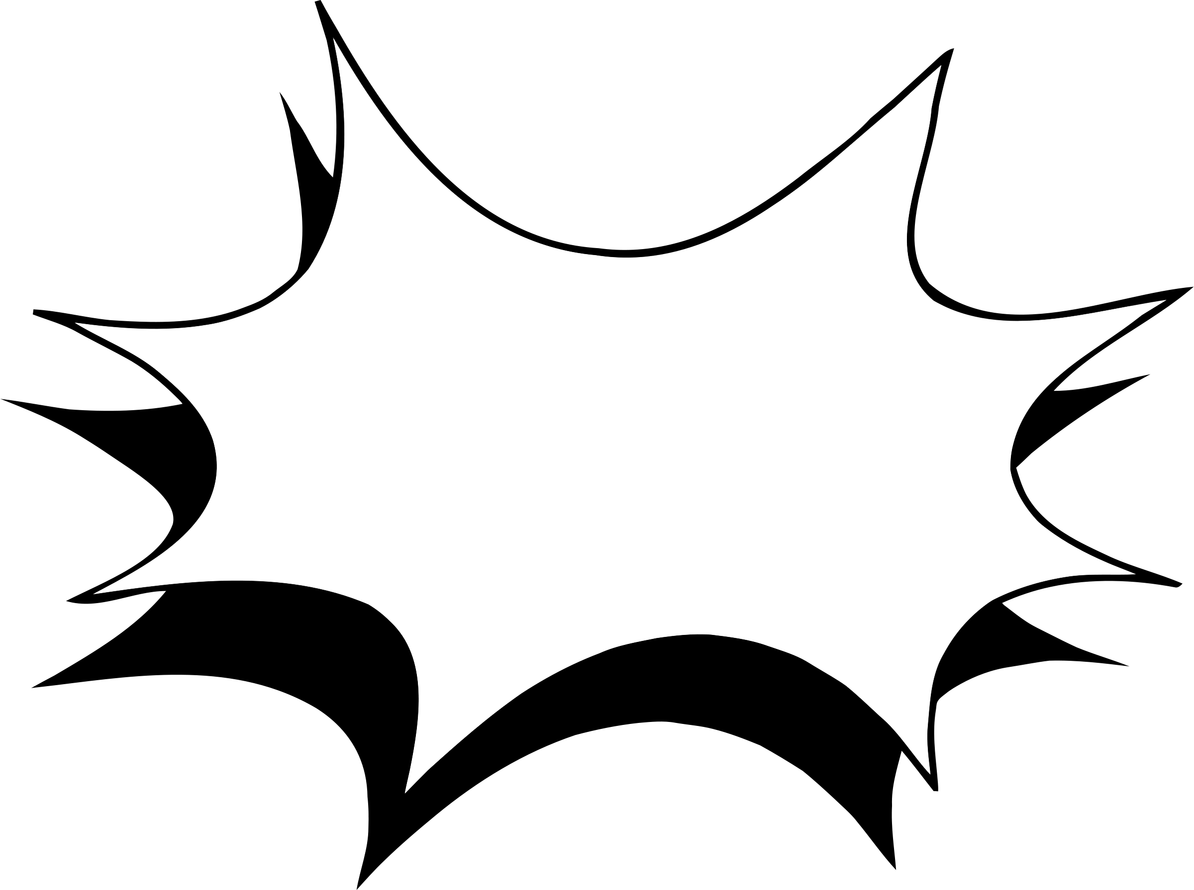 Black starburst png. Transparent images all