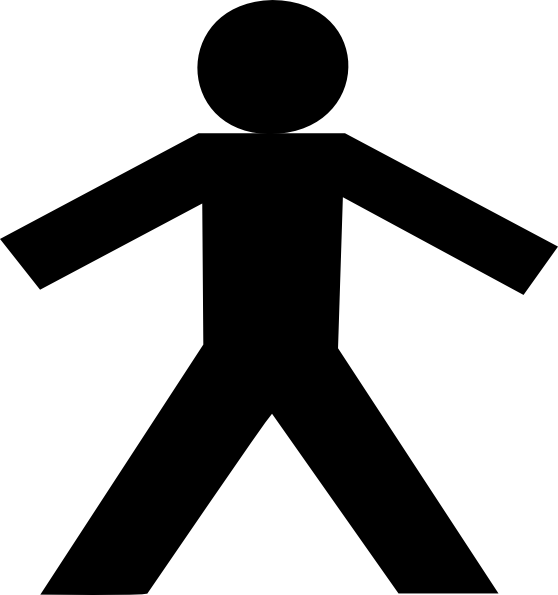 Black stick figure png. Silhouette at getdrawings com
