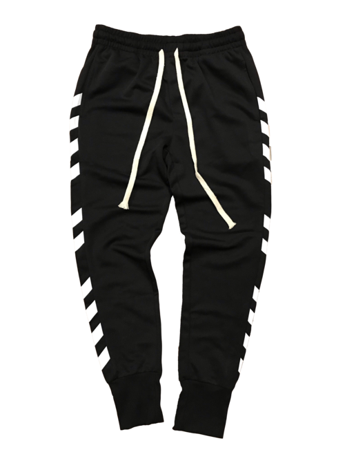 Black stripe png. Joggers woodrow s world