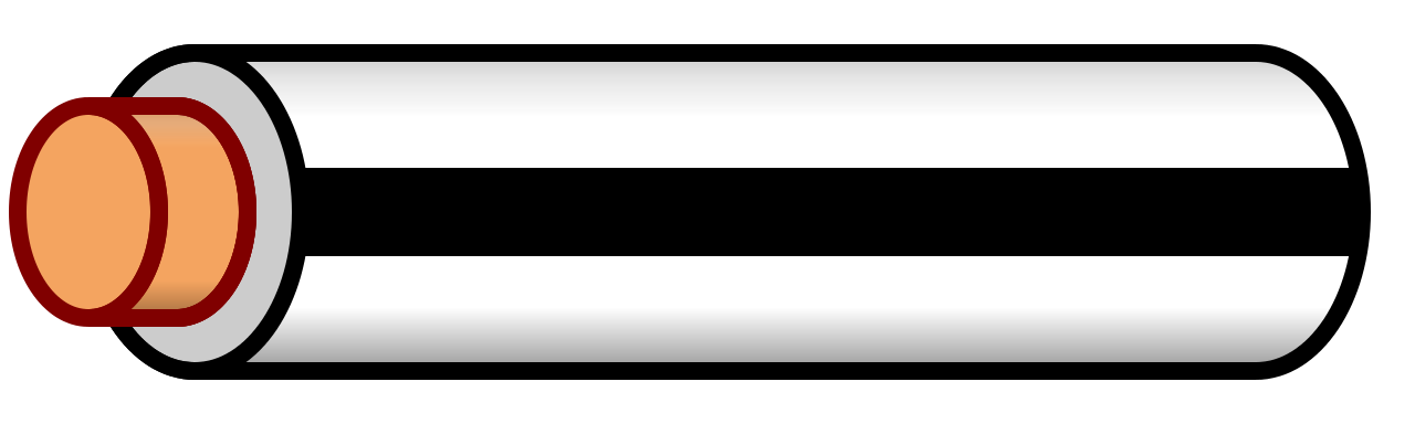 Black stripe png. File wire white svg