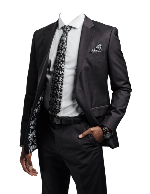 Black suit png. Transparent image pngpix