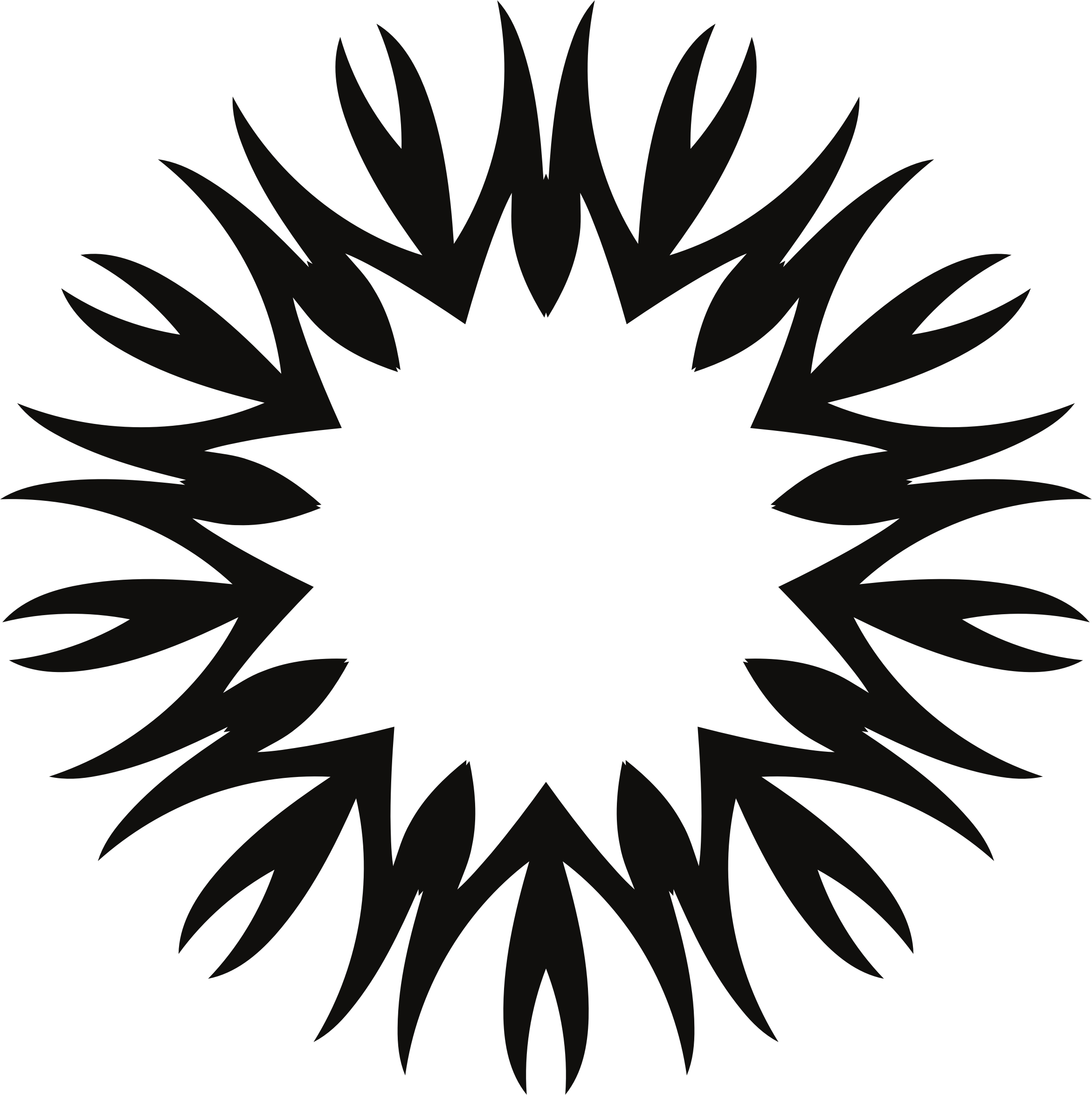 Geometric sun png. Black icons free and