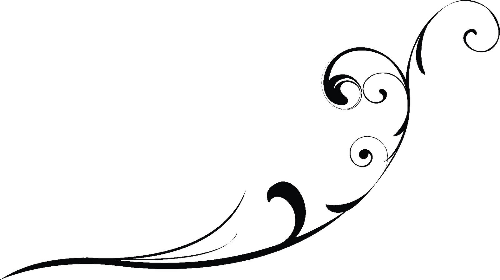 Black swirl designs png. Free icons and backgrounds