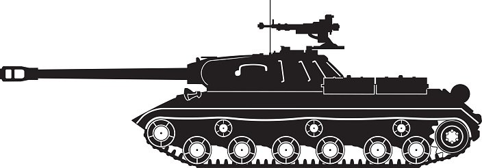 Black tank. Is clipart image clip